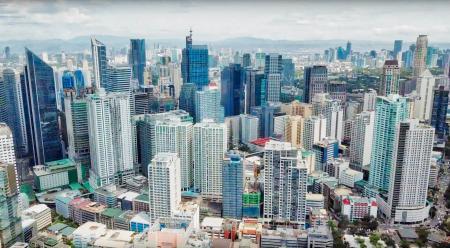 Makati skyscrapers