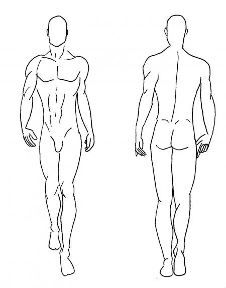 Male Model Sketch