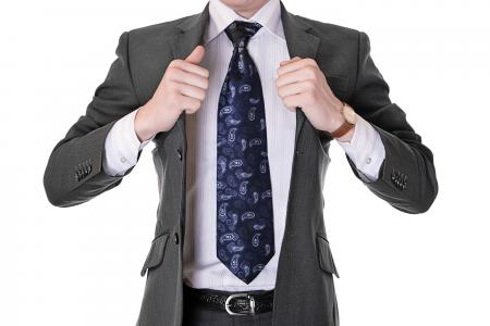 man with necktie