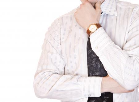 man with necktie