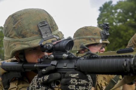 Marines Aiming
