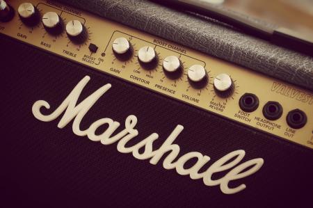 Marshall Black Guitar Amplfier