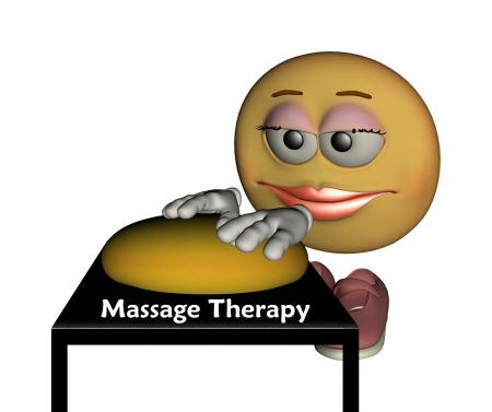 Smiley back massage