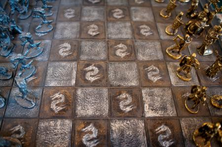 Medieval chess board