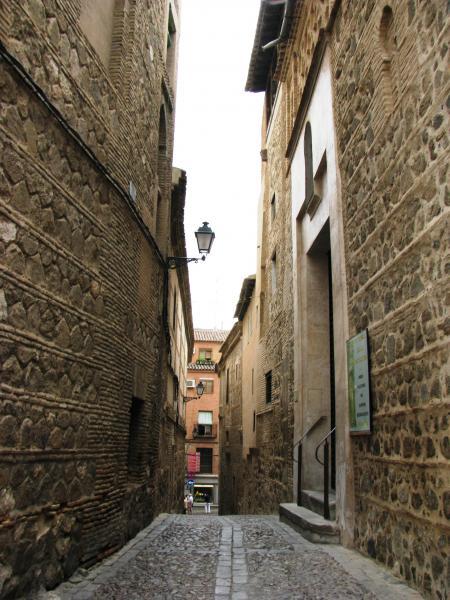 Medieval street in Toledo