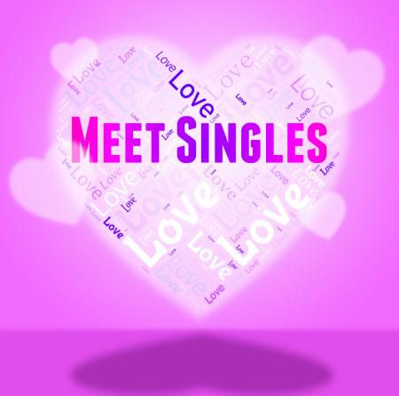 Meet Singles Indicates Search For And Affection