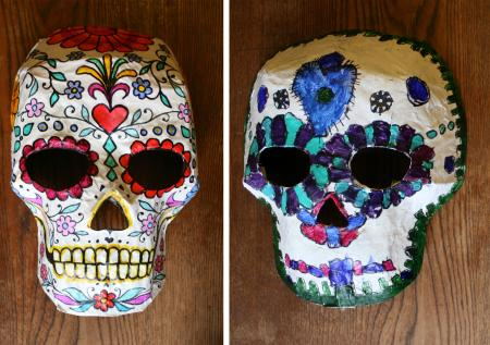 Mexican craft mask
