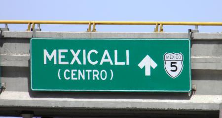 Mexican welcome sign