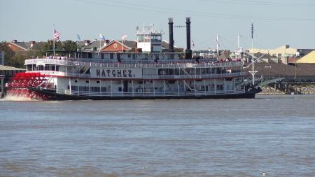 Mississippi River Crossing New Orleans