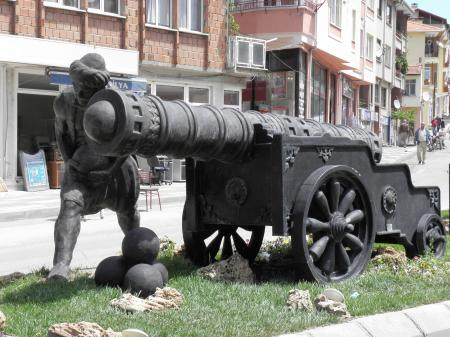 Monument of Turkish artillery