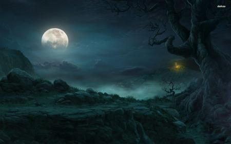 Moon Forest Fantasy
