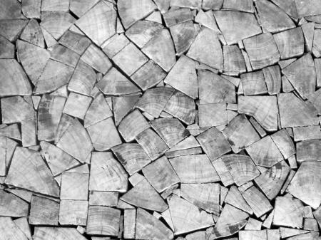 Mosaic Wood Pieces Background