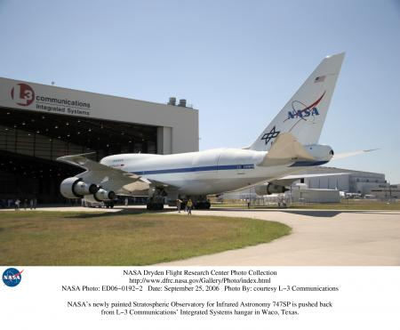 NASA's Stratospheric Observatory for Infrared Astronomy 747SP