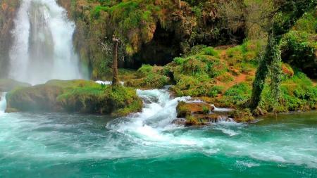 Natural Water Fall