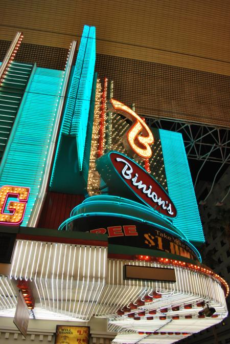 Neon signs from fremont street
