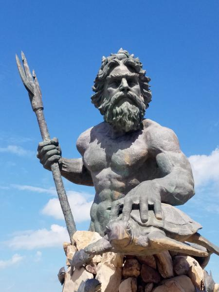 Neptune at Virginia Beach