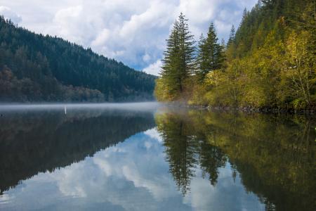 North Fork Reservoir, Oregon