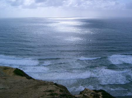 Ocean View From Cliff