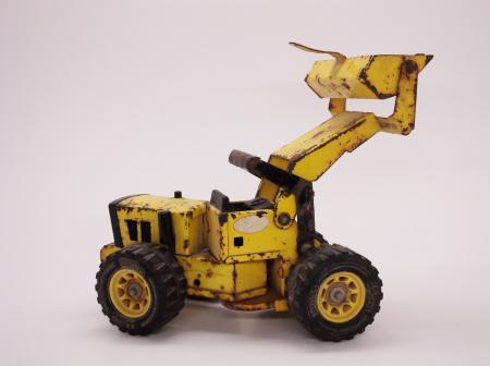 Old Excavator Toy