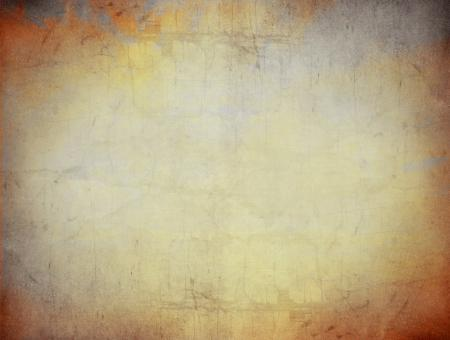 Old paper grunge texture background - Warm colors