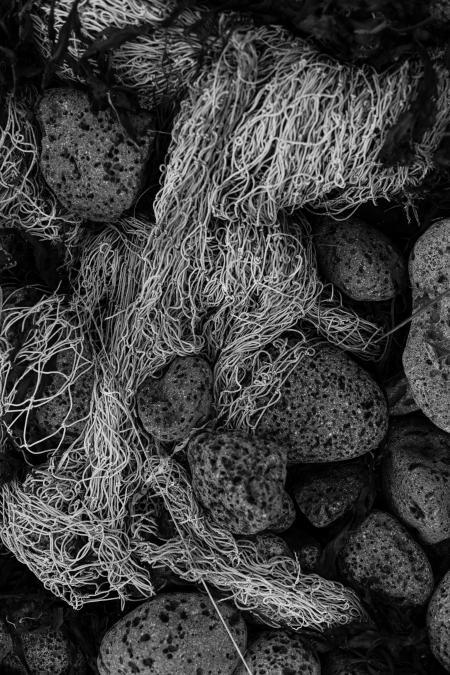Old Tangled Fishing Net