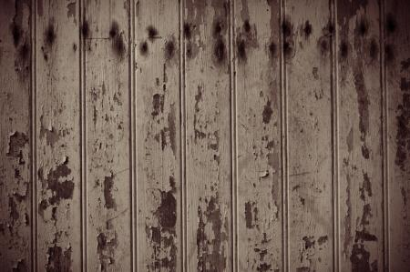 Old Worn Wooden Panels