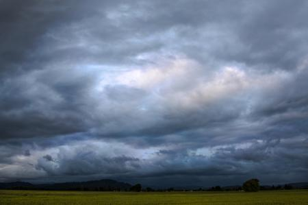 Oregon Stormy Skies