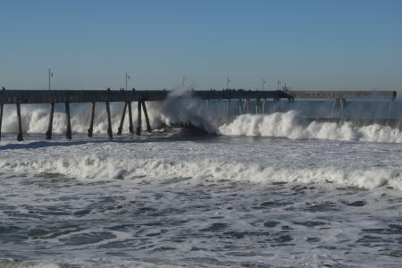 Pacifica Pier area and the Waves