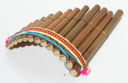 Pan flute pipes