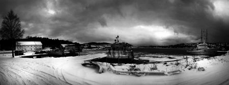 Panorama, marvika orlogsstasjon