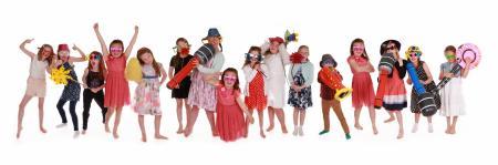 Panoramic Party - Children Having Fun