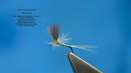 Parachute dry fly