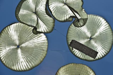 Parachutes in the Air