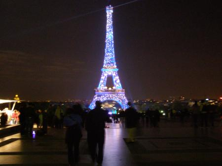Paris, Effiel Tower - Lighted up