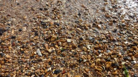 Pebbles at sea shore