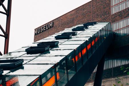 People Inside Museum