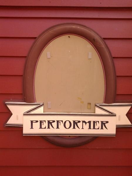 Performer Sign