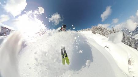 Person Skiing