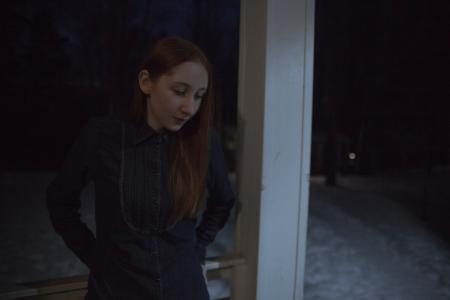 Photo of Woman in Black Long Sleeves
