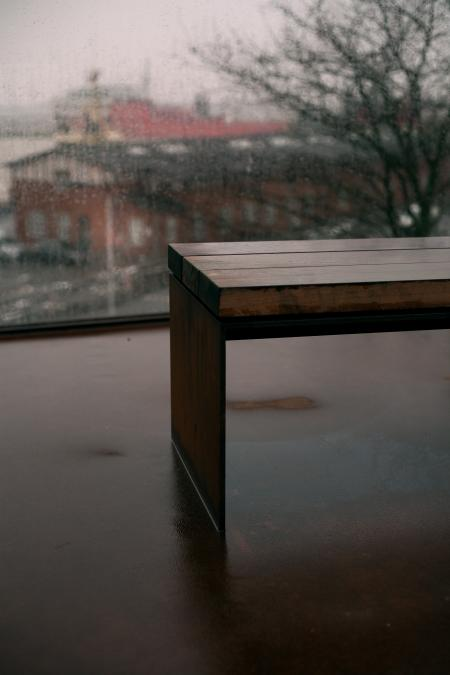 Photo of Wooden Bench