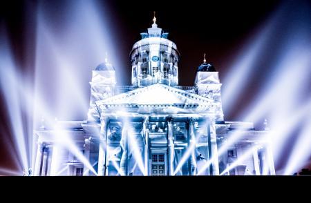 Photography of Illuminated Building at Night