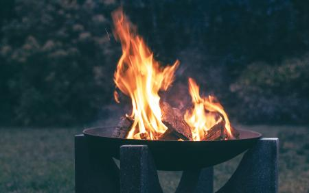 Photography of Wood Burning on Fire Pit