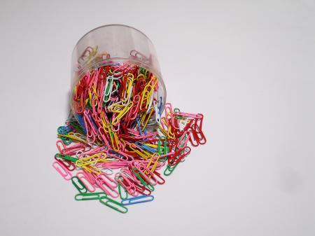 Pile of paper clips