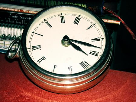 Polished Clock