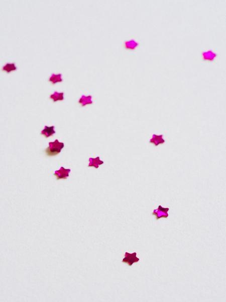 Purple Star Ornaments