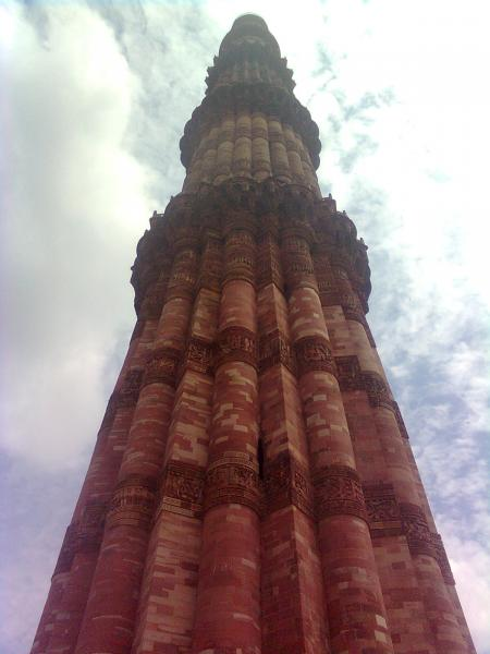 Qutub minar with Sky