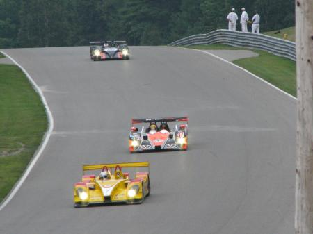 Race cars at Mosport