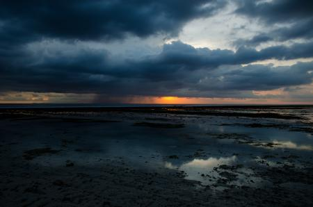 Rainy Clouds On Gili