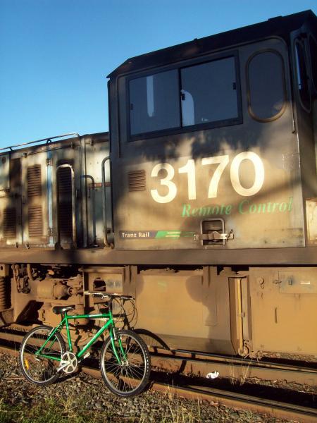 Raleigh 2100 Green Mountain Bike comes t