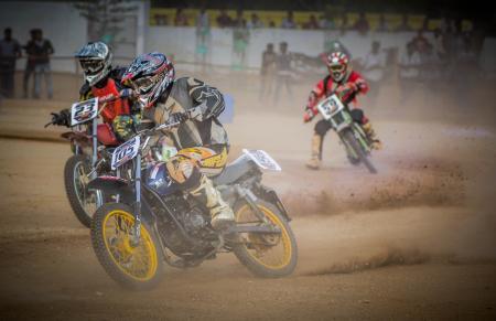 Red Bull dirt bike racing